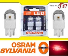 Sylvania ZEVO LED Light 7440 Red Two Bulbs Stop Brake Tail Replace Upgrade Lamp