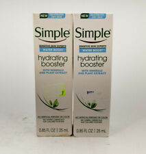 SIMPLE SENSITIVE SKIN EXPERTS WATER BOOST HYDRATING BOOSTER 2 PACK 0.85 OZ EACH