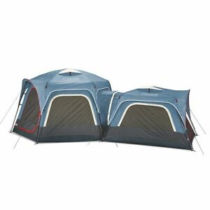 Coleman 2000033782 3-Person and 6-Person Fast Pitch Connectable Tent Bundle, 2pc