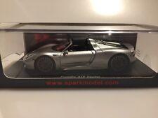 1:43 Spark Porsche 918 Spyder 2014 Damage Showcase