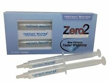 Zero2 Non Peroxide Teeth Whitening Gel CE Certified 2 x 5ml Syringes