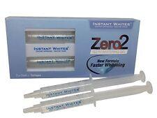 Zero2 Non Peroxide Teeth Whitening Gel CE Certified 2 x 5ml Syringes
