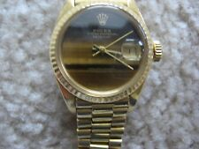 Rolex Oyster Perpetual Datejust Ladies Watch 18K Gold