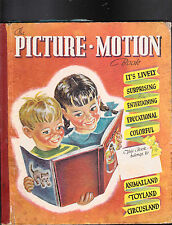 The Picture Motion Book Violet La Mon 1944 Mary S Child