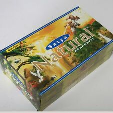 Räucherstäbchen 12 x 15g Natural 180g Box Nag Champa Satya indien goa