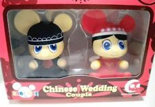 """Chinese Wedding Couple   3.5""""  Angel  BABY QEE 2 Pack - double happiness"""