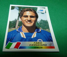 N°90 FABIO CANNAVARO ITALIE ITALIA PANINI FOOTBALL FRANCE 98 1998 COUPE MONDE WM