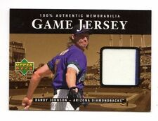 Randy Johnson MLB 2000 Upper Deck Game jersey (Diamondbacks, Yankees, géants)