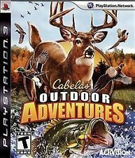 PLAYSTATION 3 CABELA'S OUTDOOR ADVENTURE NEW GAME Hunting and Fishing action
