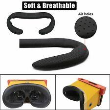 2pcs Face Maske PU Leder Foam Pad Abdeckung für Nintendo Switch VR Labo Headset