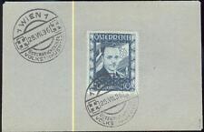 ÖSTERREICH 1936 588 FDC DOLLFUSS ATTEST MATL 1600€(E7067b