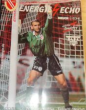 2000/01 1.Bundesliga FC Energie Cottbus - Eintracht Frankfurt
