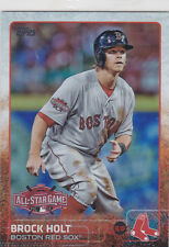 2015 Topps BROCK HOLT Rookie Pulsar All-Star Game Baseball Card # US128 Red Sox