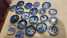 Large Lot of 20 Bing and Grondahl B&G Christmas and Mother's day plates