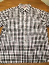 THE NORTH FACE MENS M BUTTON FRONT HIKING CAMP SHIRT