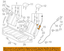 MAZDA OEM 10-12 CX-7 Rear Seat-Seat Cover-Top Back Left EH4488451B35