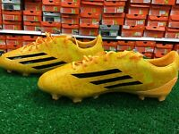 New Adidas F50 Adizero FG J Gold / Black Soccer Cleats Size 5.5 New In Box
