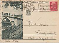 1932 OPERE DEL REGIME ROMA PONTE DELLA VIA SALARIA INTERO POSTALE 75C