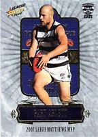 2008 Select AFL Classic Card Series Medal Card MC5 Gary Ablett (MVP Medalist)