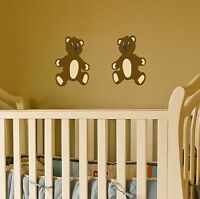 Teddy Bear Wall Decal set removable stickers nursery decor kids children room