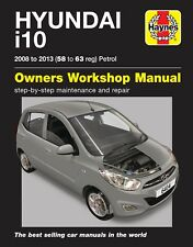 H6414 Hyundai i10 (2008 - 2013) 58 to 63 Petrol Haynes Repair Manual