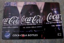 Coca - Cola collector phone  card, limited edition to 1000 cards, UK