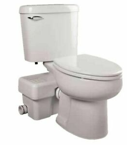 Liberty Ascent II Upflush Toilet Package - ASCENTII-RSW Round Toilet Package