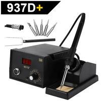 937D+ ESD Soldering Rework Station Digital Adjustable Welding Solder SMD Tool