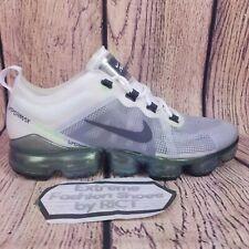 New Nike Air VaporMax 2019 Premium AT6810 100 White Platinum Mens Shoes Size 9.5