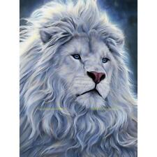 Crystal Cross Stitch Picture Diamond Embroidery 5D DIY Lion Painting Needlework