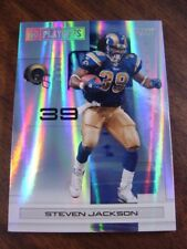 2007 Playoff NFL Silver #/99 Los Angeles RAMS Team Set (6c)