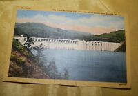Vintage Postcard-The Great Bluestone Dam Near Beckley, WV