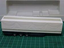 Remolque blanco toldina 3 ejes 1/87 Rietze, no Herpa AWM WSI New ray Wiking