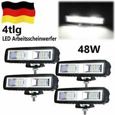 LED Arbeitsscheinwerfer 4X 48W Rückfahrscheinwerfer Scheinwerfer 12V 24V
