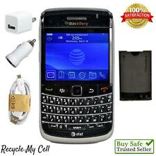 BlackBerry Bold 9700 - Black (AT&T) GSM 3G Speed Cell Phone QWERTY Keyboard
