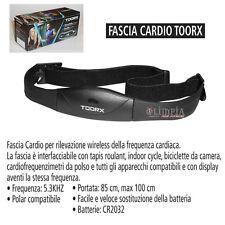 FASCIA CARDIO - Rilevazione Wireless del BATTITO CARDIACO x Tapis Roulant TOORX