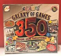 Galaxy of Games - 350 Unique Game Variations (PC CD 2004)