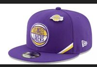 New Era Men's Los Angeles Lakers Purple 2019 NBA Draft 9FIFTY Snapback Hat