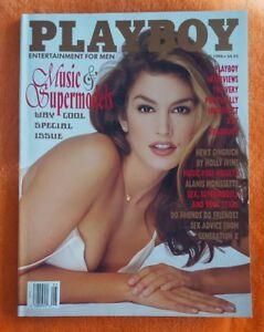 PLAYBOY MENS MAGAZINE MAY 1996 SHAUNA SAND ALANIS MORISSETTE CINDY CRAWFORD