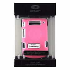 AGF 2 Piece Shell Case and Holster for BlackBerry Torch 9800/9810 - Pink / White