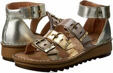 NAOT Women's Begonia Ankle Strap Sandal, Metallic Leather ( EU 41 / US 10 )