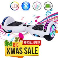All Terrain Hoverboard Electric Balancing Scooter Wireless Speaker without Bag