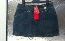 Miss Posh mini denim skirt holiday/festival size 10