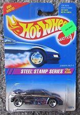 MOC 1995 HOT WHEELS STEEL STAMP ZENDER FACT 4 TRI BLADE WHEEL 3 SPOKE VINTAGE
