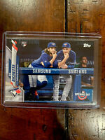 2020 Topps Opening Day Bo Bichette SSP Rookie #173 Blue Jays RC Variation