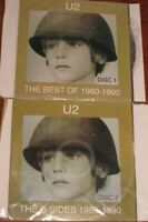 The Best of 1980-1990/The B-Sides [Limited] by U2 ( 2 CD, Nov-1998 ) NO CASE