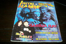 METAL HAMMER MAGAZINE 3/1999 GAMMA RAY IMMORTAL IRON MAIDEN THE GATHERING