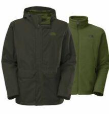 The North Face Chimborazo Hyvent Ski 2-In-1 Rain Coat Tri-Climate Fleece Jacket