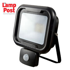 Robus RRE3040P-04 - REMY 30W LED Flood Light with PIR IP65 Polycarbonate 4000K