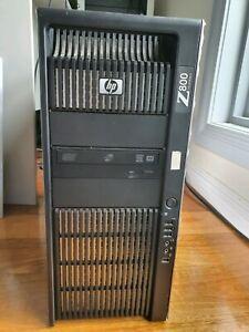 HP Z800 Workstation Dual Xeon W5590 24G Quadro FX4600 Win 10 Pro